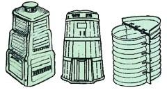 Plastové zásobniky