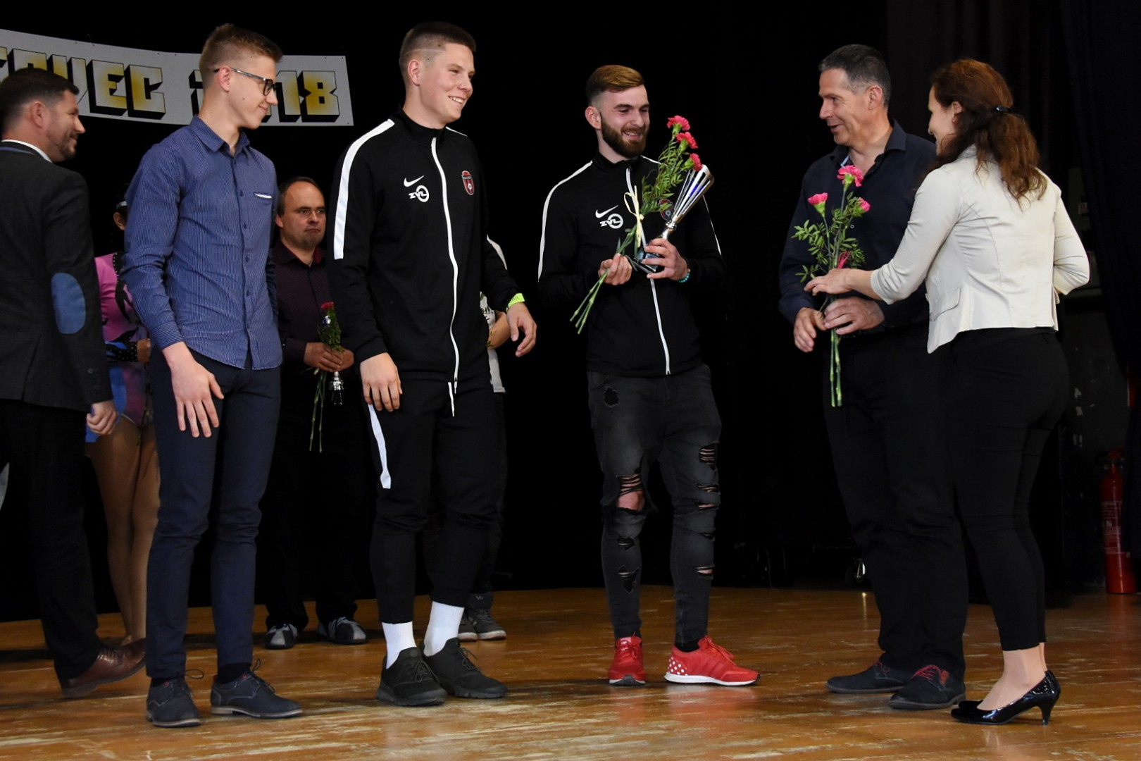 Športovec roka - Cenu za najlepšieho hráča A-mužstva si prebral Martin Kordiš, v kategorií dorastu bol ocenený Peter Cúg a najlepším žiakom sa stal Maximilián Rybár.