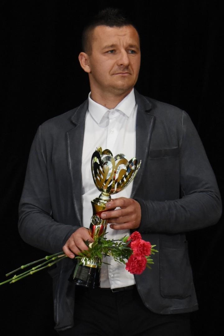 Športovec roka - Michal Drahno ako najlepší tréner Futbalového klubu